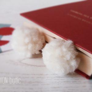 Semn de carte Craciun iarna