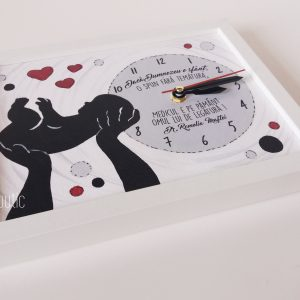 Cadou personalizat medic ginecolog pictat manual cu mesaj