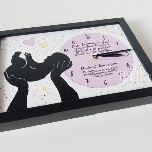 Cadou pentru medic ginecolog personalizat pictat manual cu mesaj