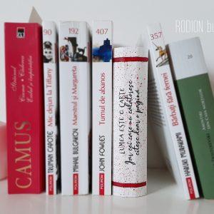 Cutie bijuterii calatorii forma de carte pictata manual cu mesaj