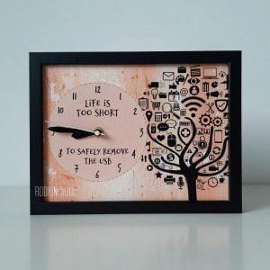Cadou tehnologie personalizat cu mesaj pictat manual